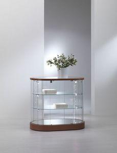 VITRINES SARAZINO - comptoir ovale - Escaparate De Tienda