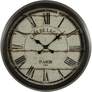 DECORATION D'AUTREFOIS -  - Reloj De Pared