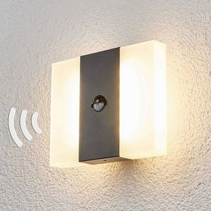 Lampenwelt - applique d'extérieur à détecteur 1414606 - Aplique Exterior Con Detector