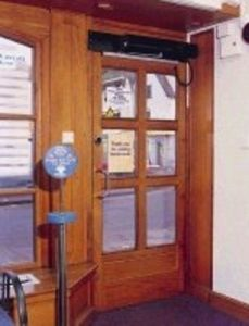 Ir Security & Safety -  - Puerta De Comunicación Acristalada