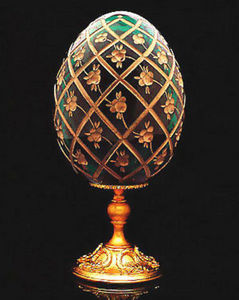 FABERGE-ART -  - Huevo Decorativo