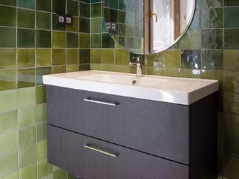 Almaviva - salle de bains verte - Azulejos Para Cuarto De Ba�o