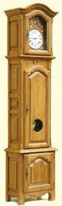 Horlogis - horloge droite chêne - Reloj De Pared Caja Alta