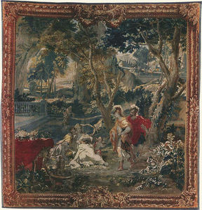 Manufacture Robert Four - tenture dite des scènes d'opéra - Tapicería De Gobelinos