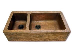 Brass & Traditional Sinks - chateaux kitchen sink - Fregadero Doble