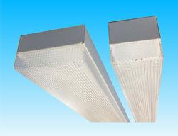 Sondia Lighting - zena t8 - slimline surface diffuser luminaire - Plafón Para Despacho