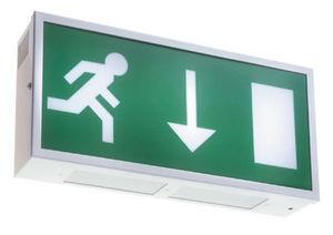 Emergency Lighting Products - metalite exit - Señalización Luminosa