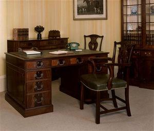 Martin J. Dodge - pedestal desk - h.54 - Secreter