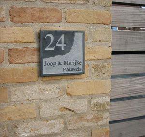 La Pierre - style 7 - Placa Nombre Casa