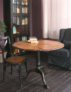 BLEU PROVENCE - vintage black - Mesa De Comedor Ovalada