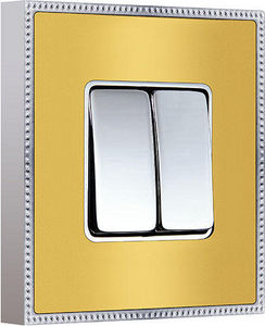 FEDE - belle époque metal collection - Interruptor Doble