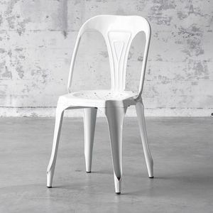 Mathi Design - chaise multipl's blanche - Silla