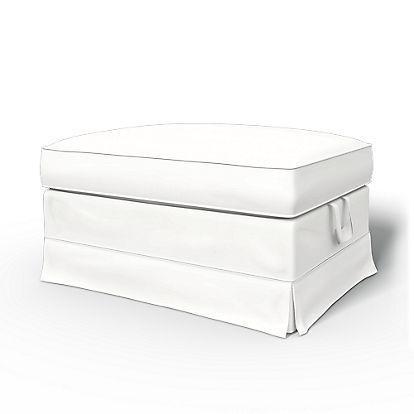 BEMZ - Funda para reposapiés-BEMZ-Absolute White Panama Cotton
