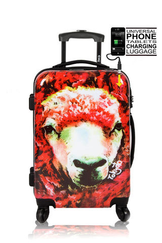MICE WEEKEND AND TOKYOTO LUGGAGE - Maleta con ruedas-MICE WEEKEND AND TOKYOTO LUGGAGE-RED SHEEP