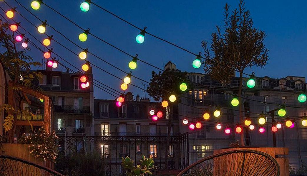 LA CASE DE COUSIN PAUL Ghirlanda luminosa Ghirlande Illuminazione Interno  |