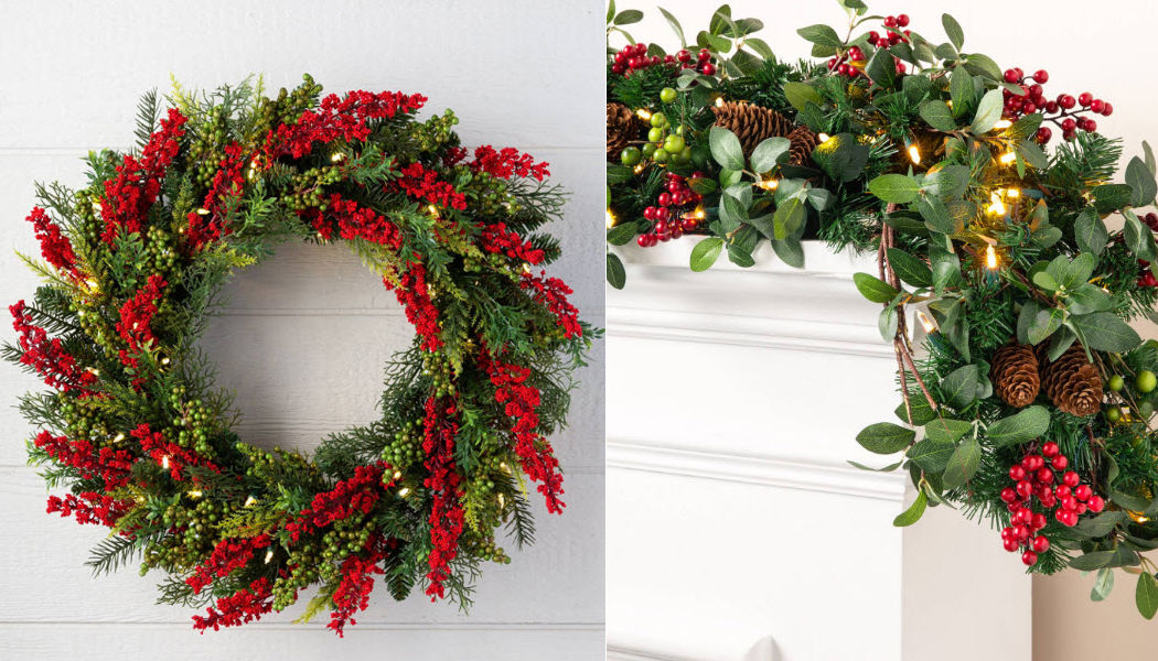 BALSAM HILL Corona di Natale Addobbi natalizi Natale Cerimonie e Feste  |