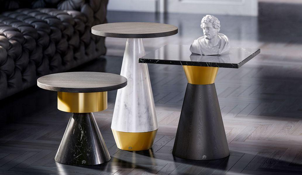 Draenert Tavolino rotondo Tavolo d'appoggio Tavoli e Mobili Vari   