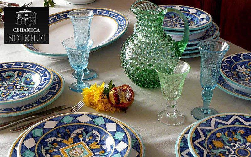 CERAMICA ND DOLFI Servizio da tavola Servizi di piatti Stoviglie Sala da pranzo | Classico
