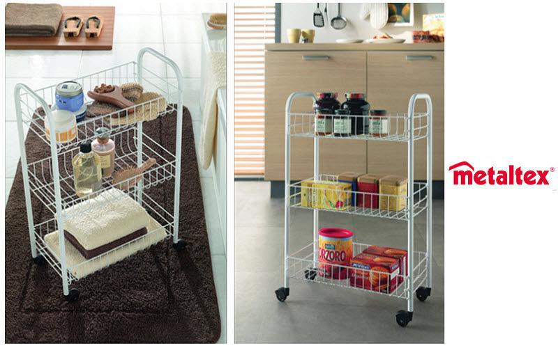 Metaltex Mobile di servizio per cucina Carrelli e tavolini Attrezzatura della cucina   |