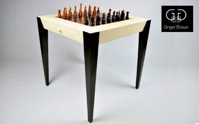 GINGER BROWN Tavolo da gioco Tavolo da gioco Tavoli e Mobili Vari  |