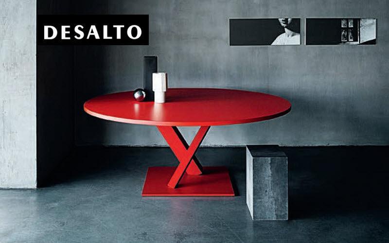 DESALTO Tavolo da pranzo rotondo Tavoli da pranzo Tavoli e Mobili Vari   