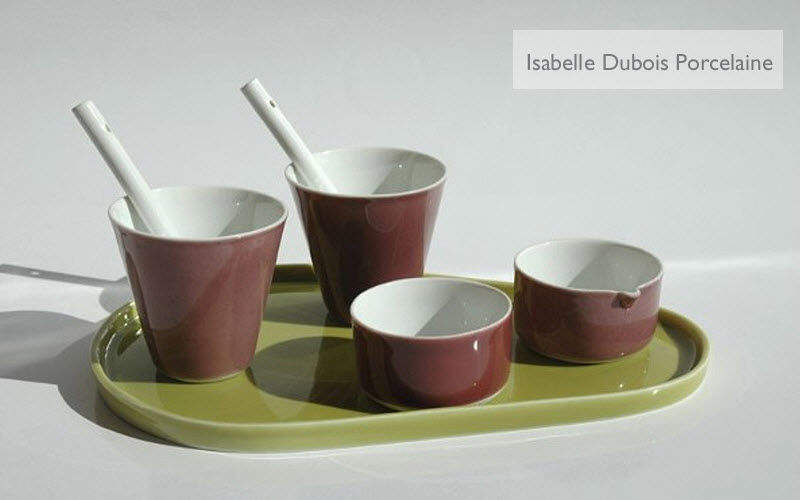 Porcelaines Isabelle Dubois Servizio da caffè Servizi di piatti Stoviglie  |