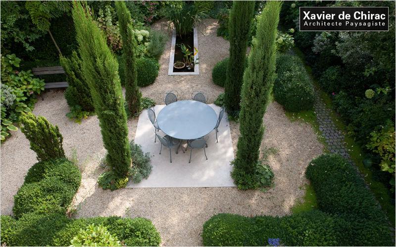 XAVIER DE CHIRAC Giardino all'inglese Realizzazioni giardino Varie Giardino  |