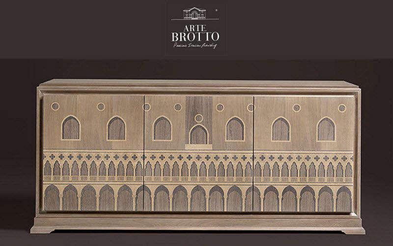 Arte Brotto Cassettiera bassa Credenze, buffet e mobili soggiorno Armadi, Cassettoni e Librerie  |