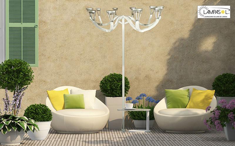 LAMPASOL Lampione Lampioni e lampade per esterni Illuminazione Esterno   