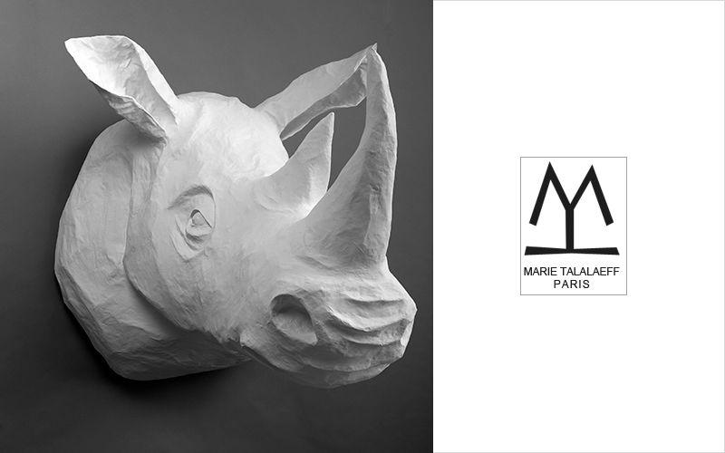 MARIE TALALAEFF Scultura animali Statue Arte   