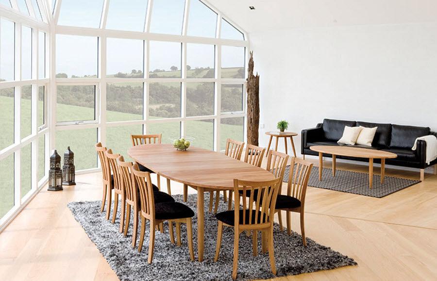 Haslev Tavolo da pranzo ovale Tavoli da pranzo Tavoli e Mobili Vari Sala da pranzo | Design Contemporaneo