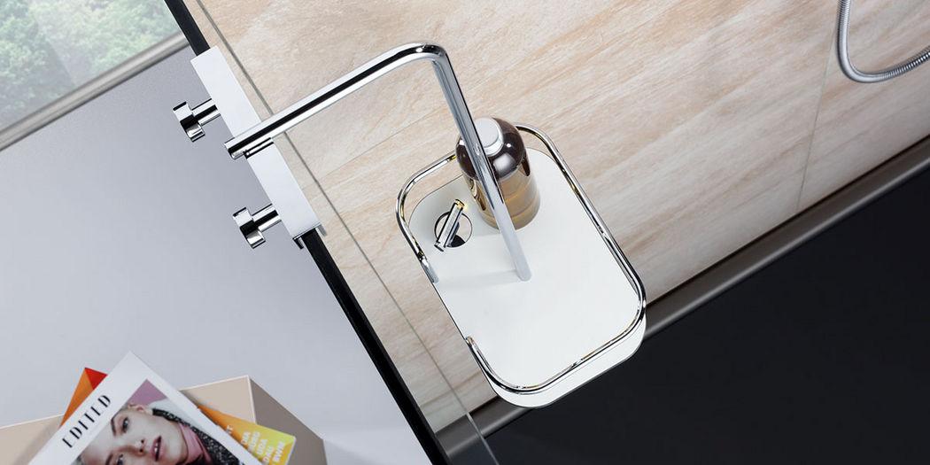 GIESE Portasapone per doccia Doccia e accessori Bagno Sanitari  |