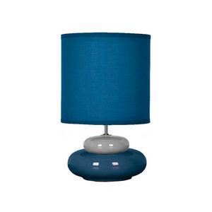 SEYNAVE - lili - lampe à poser bleu & gris | lampe à poser s - Lampada Da Tavolo
