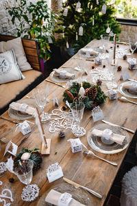 Artyfetes factory - hygge - Decorazione Per Tavola Di Natale
