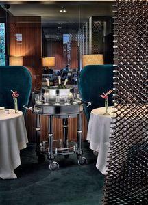 Ercuis Raynaud Carrello per champagne
