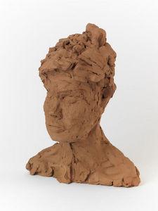 Scultura testa umana