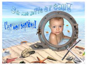 Garance Tosello Partecipazione battesimo