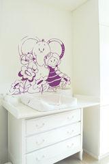 ApplePie Design - kali, nina & kenza flower - Adesivo Decorativo Bambino
