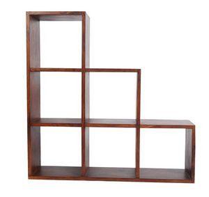 BELDEKO - meuble escalier 6 cases - Libreria