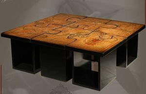 BATEL -  - Tavolino Rettangolare