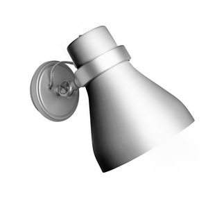 Metalarte - oslo - spot argent ø13cm | applique metalarte desi - Lampada Da Parete