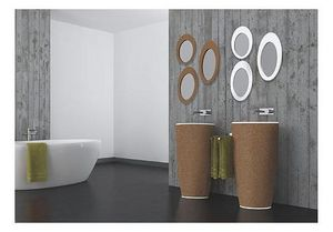 AMA DESIGN - natur - Lavabo Su Colonna O Base