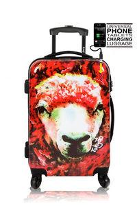 TOKYOTO LUGGAGE - red sheep - Trolley / Valigia Con Ruote