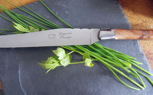 Au Sabot - couteau à découper laguiole - Coltello Per Prosciutto