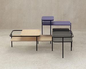 MUT DESIGN - table basse rectangulaire duplex  - Tavolino Rettangolare