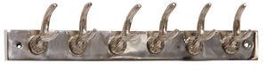 Aubry-Gaspard - patère cerf en aluminium 6 crochets - Appendiabiti Da Parete