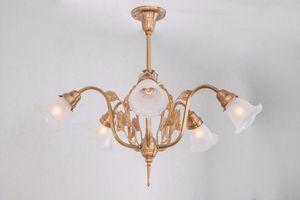 PATINAS - szeged 5 armed chandelier - Lampadario