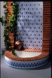 Emaux de Briare - gemmes - Piastrella Da Muro