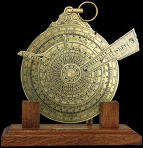 HEMISFERIUM - nocturlabe - Oggetto Marino