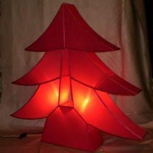 atoutdeco.com - lampe en soie  - Albero Di Natale Artificiale